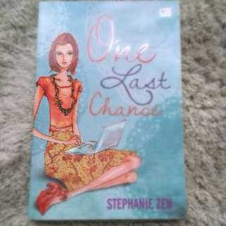 Preloved Novel Metropop: One Last Chance