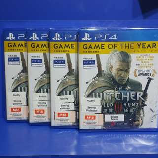 The Witcher 3 : Game of the year edition