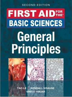 First Aid for the Basic Sciences: General Principles 2nd Edition ebook