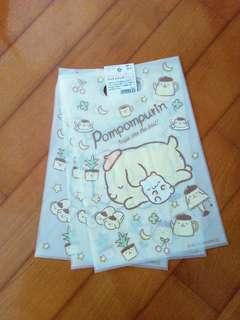 日本限定:布甸狗膠袋3個