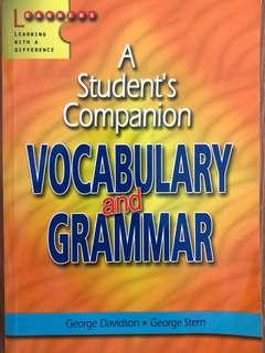 Student's Companion Vocab and Grammar