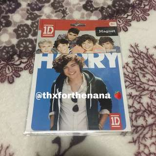 Official 1D One Direction Harry Styles Magnet