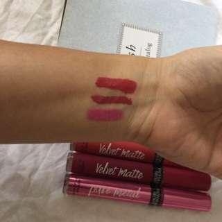 Victoria's Secret matte lip stain pure metal
