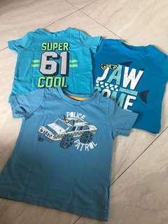 Boys Tshirt sets
