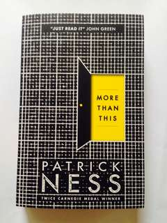 More than this patrick ness