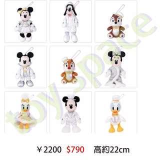 代購 日本迪士尼 米奇米妮娃娃吊飾