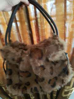 Marie Claire fur bag