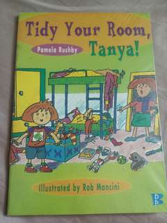 Tidy your room Tanya