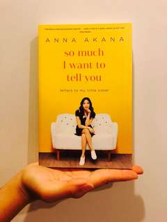 Anna Akana - So much I want to tell you