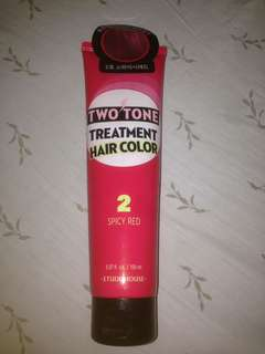 ETUDE 2 TONE HAIR COLOR TREATMENT
