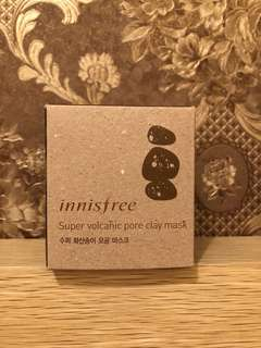 NEW! Innisfree Super Volcanic Pore Clay Mask