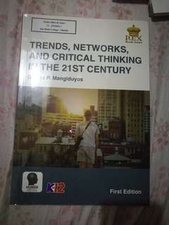 Trends, Networks and Critical Thinking in the 21st Century