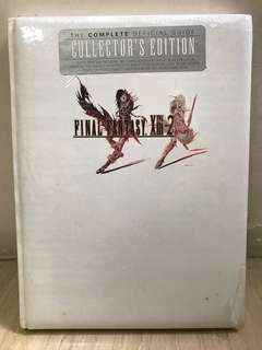 Sony PlayStation LE PS3 Final Fantasy XIII-2 Super Guidebook Collector's Edition