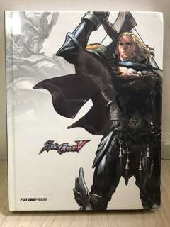 FuturePress PlayStation Xbox Soul Calibur V 5 Collector's Edition Guide Book