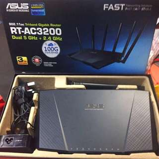 ASUS ROUTER Triband Gigabit RT-AC3200