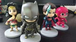 Justice League Chibi Action Figures