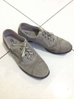 Hush Puppies Oxford Gray Shoes