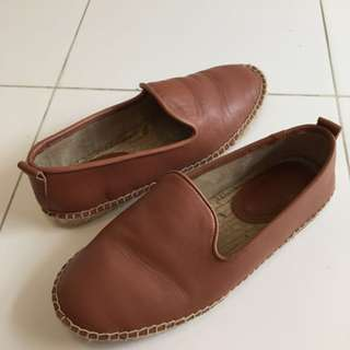 Kenneth Cole leather espadrilles