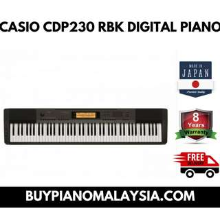 Piano - casio cdp 230 rbk digital piano