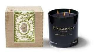 Penhaligons Manduro Leaf Candle (3-Wick)