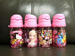 1for$12. 2for$20. My Little Pony Tsum Tsum Frozen Hello Kitty Water Bottle