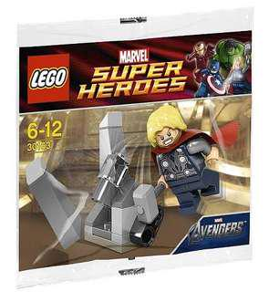 [NEW] Lego 30163 Thor and the Cosmic Cube Polybag