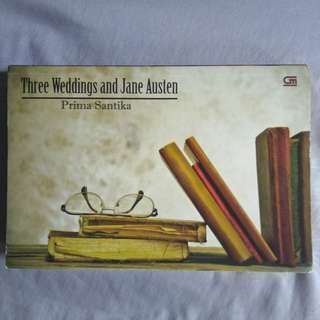 Preloved Metropop: 3 Weddings & Jane Austen