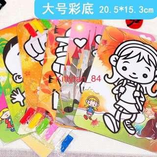 Goodie bag Colorful Sand Art (Min 30 sets)