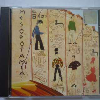 Mesopotamia by the B-52's (CD) NEAR MINT