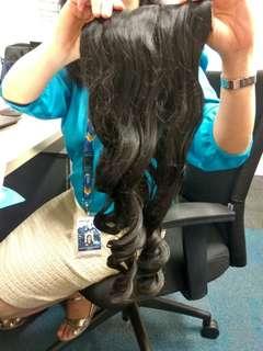 Rambut Palsu Panjang Keriting