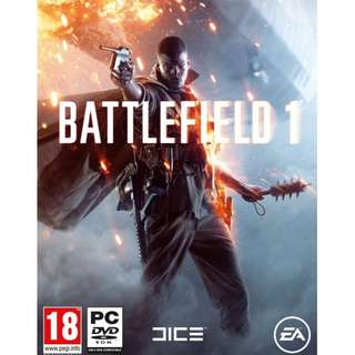 Battlefield 1 Offline with DVD (PC)