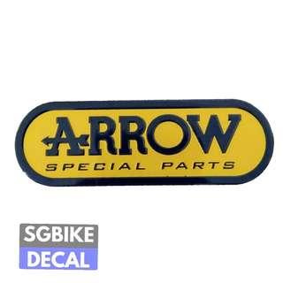 Aarow Exhaust Metal Emblem