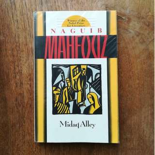Midaq Alley by Naguib Mahfouz