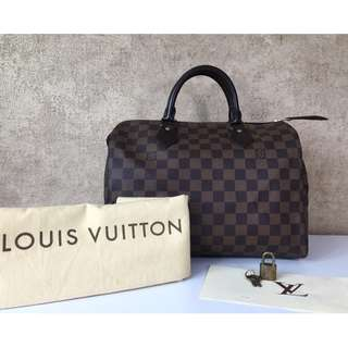 LOUIS VUITTON N41531 SPEEDY 30 DAMIER EBENE