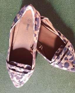 Animal Print Doll Shoes