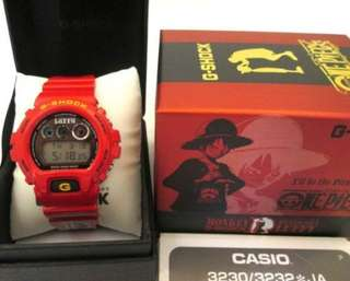 One Piece D Luffy G Shock Limited Edition