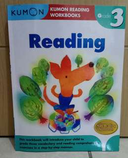 Kumon Reading Workbooks Grade 3