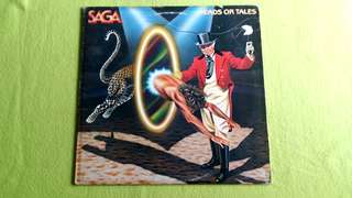 SAGA . heads or tales. Vinyl record