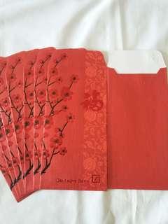 8 pcs *Deutsche Bank* Red Packet / Ang Pow / Hong Bao / Ang Pao