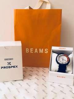 Seiko prospex x Beams