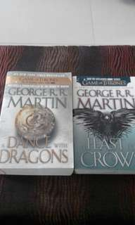 Game of Thrones Book 4 &5