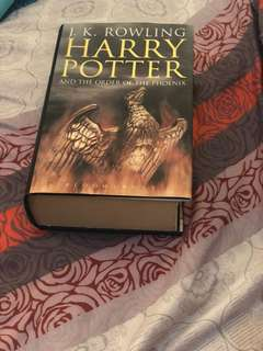 Harry Potter and the Order of the Phoenix ori bahasa Inggris