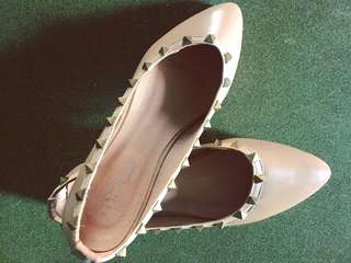 Valentino Inspired Studded Shoes