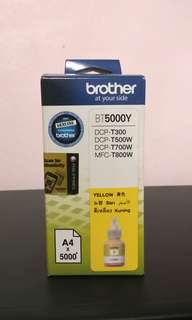 Brother BT5000Y Genuine Yellow