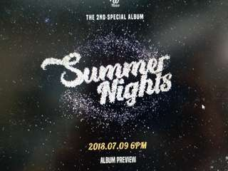 Twice summer night