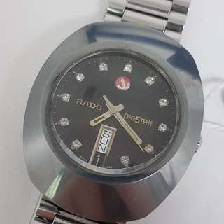Rado Diastar 636.0308.3 Automatic Vintage Watch