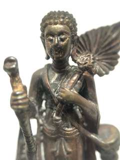 ✅ Thai Amulet - Sivali Roop Lor Nur Thong Daeng - Sivalee - Walking Monk - Thai Amulets