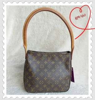 LV Looping Shoulder Bag