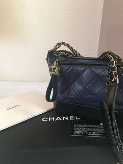 🈹Chanel Gabrielle Midnight Blue (small)