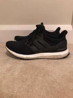 Adidas ultra boost in black